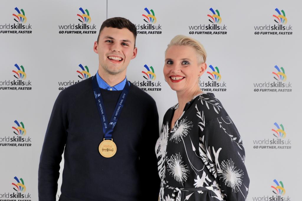 CoGC WorldSkills 2018 Gold Medal Winner_John McMenamin, Plastering
