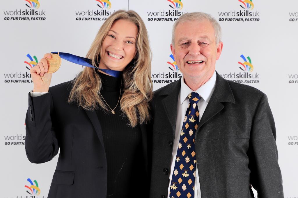 CoGC WorldSkills 2018 Gold Medal Winner_Karolina Glowacka, Restaurant Service