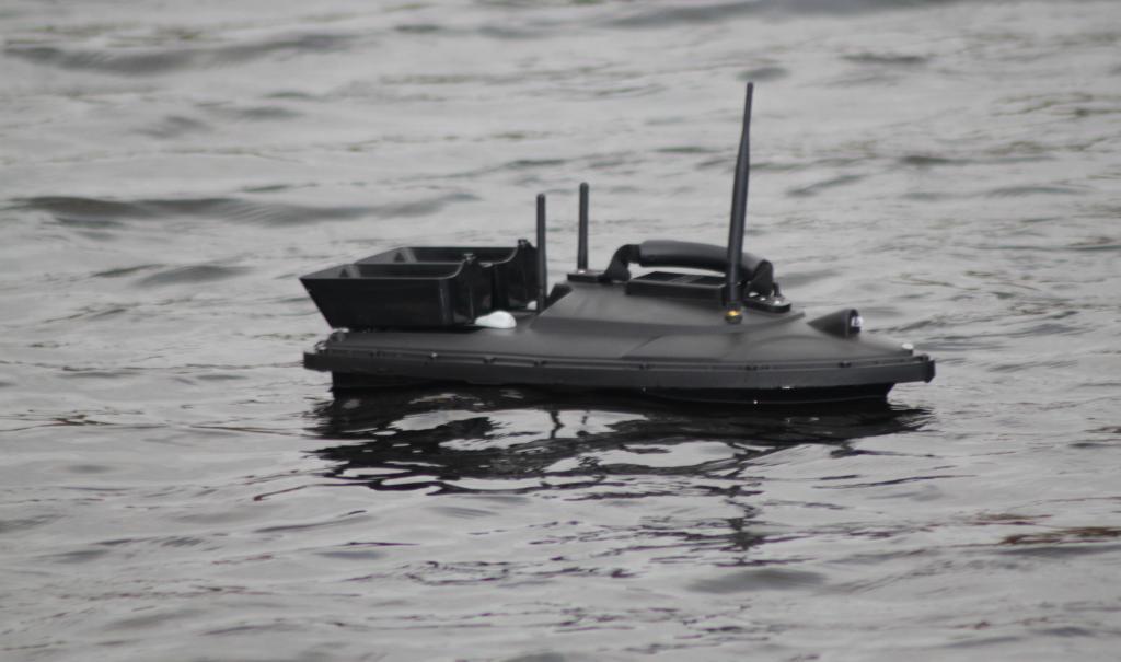 Image of mobile water monitoring device, Aquabot 2.0