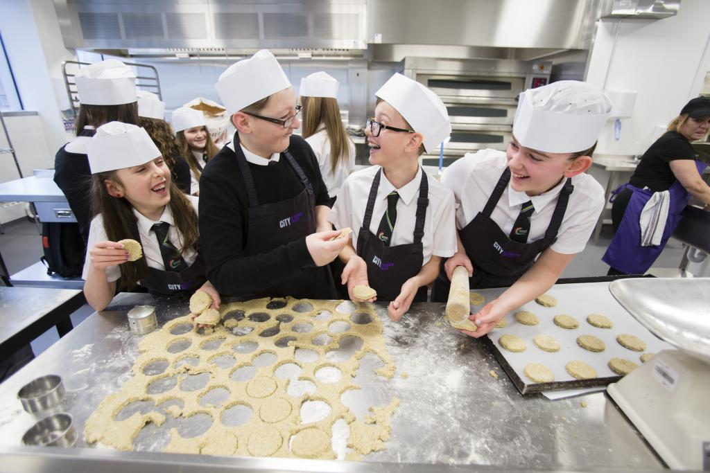CoGC_Burns Supper for Garnock Community Campus_school pupils