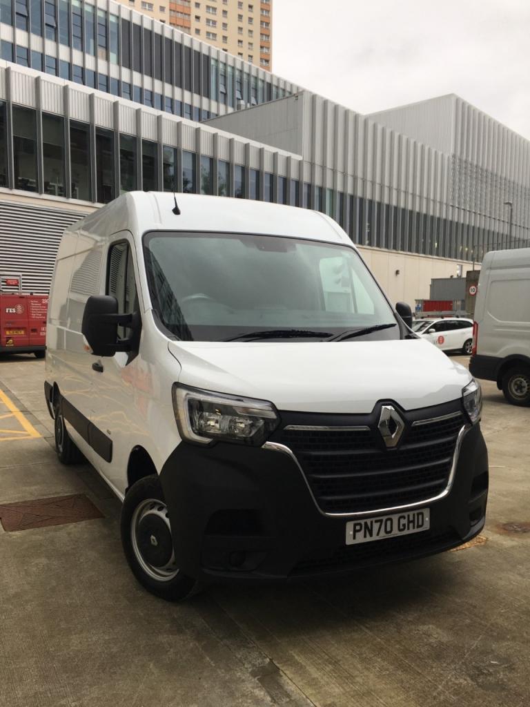 Electric fleet - delivery van