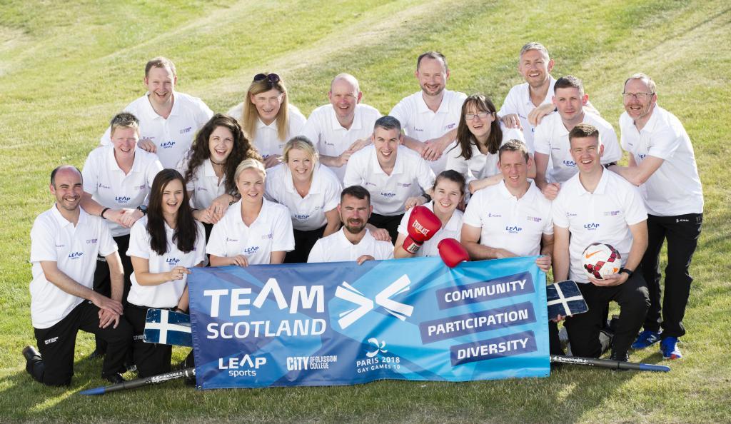 CoGC_Gay Games 2018 Team Scotland