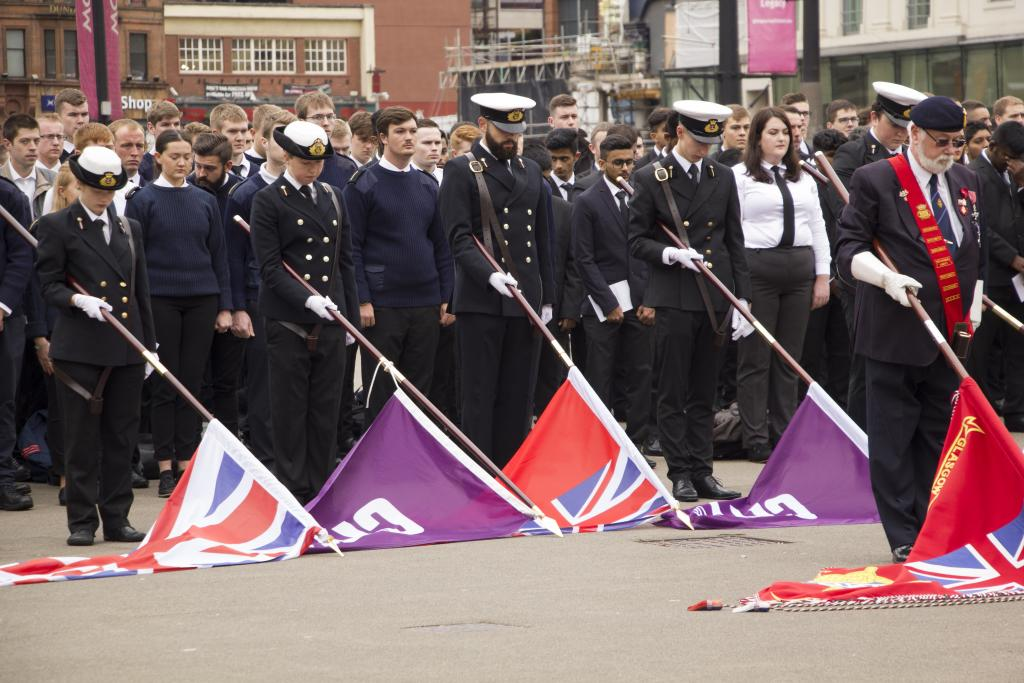 CoGC Cadets support Merchant Navy Day