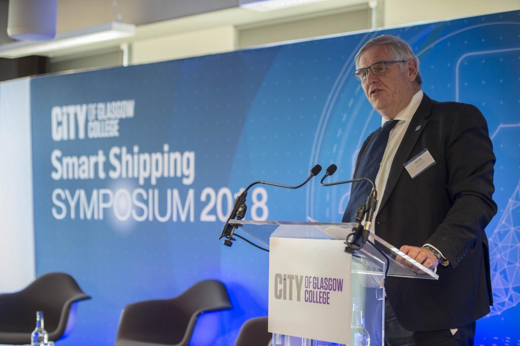 CoGC Smart Shipping Symposium, Captain John Lloyd