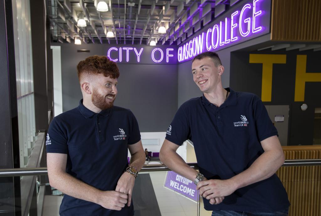 Konnar Doyle and Mark Scott, City of Glasgow College