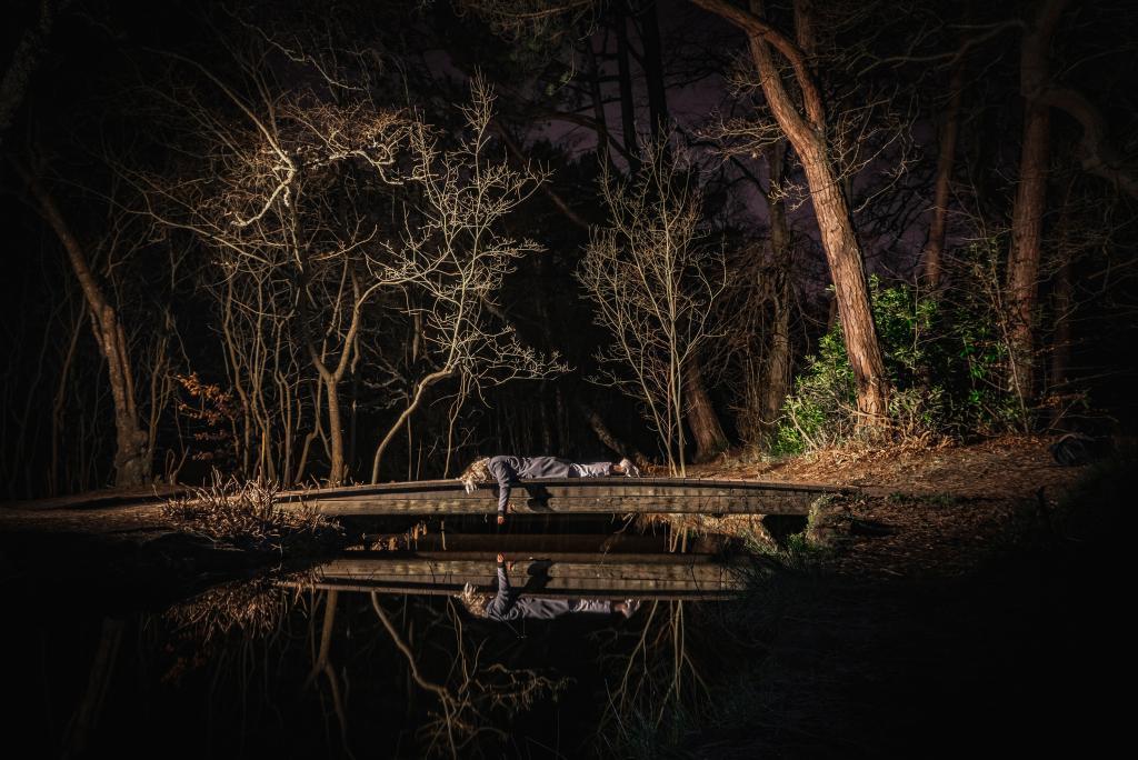 Student photograph called illuminate.