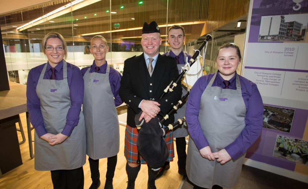 City of Glasgow College Burns Supper (Hospitality Students)