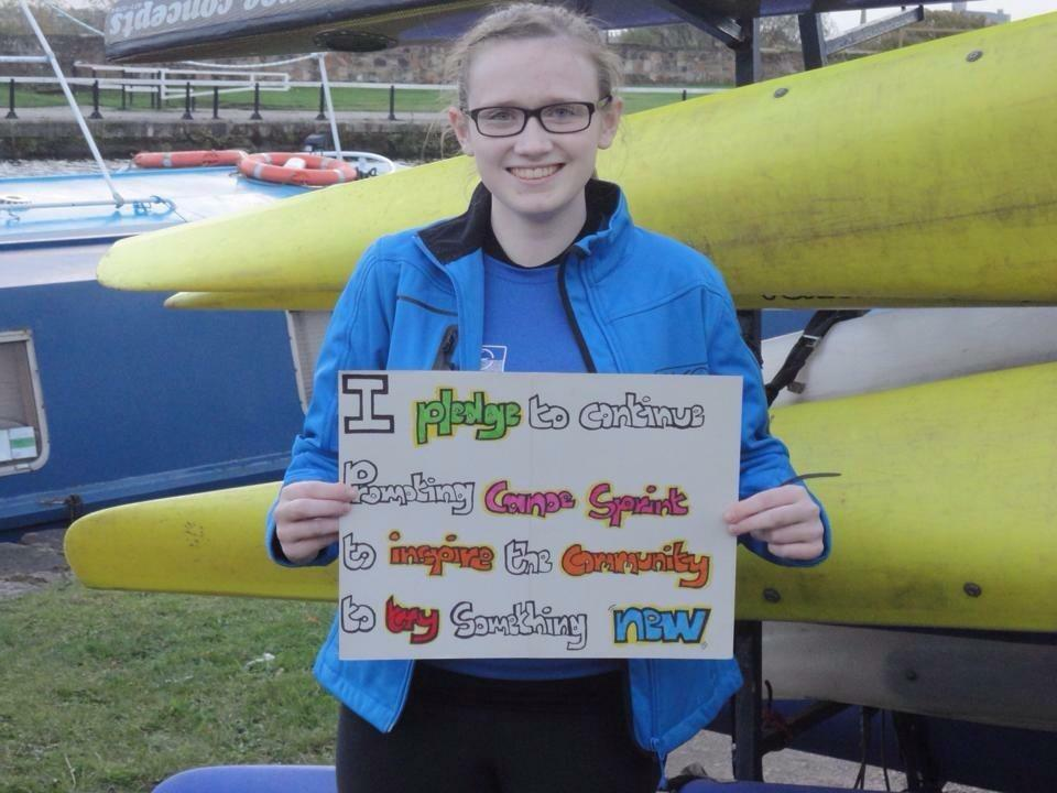 Glasgow Kayak Club Sprint & Marathon Team - Natasha Lawton (CoGC)