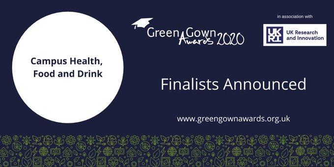 Green Gown Awards_Campus Health, Food and Drink