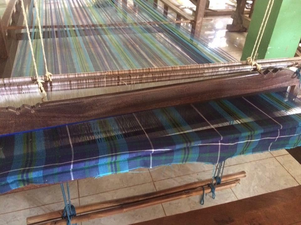 Handloom Weaver (World Fair Trade Tartan) Villageworks, Cambodia