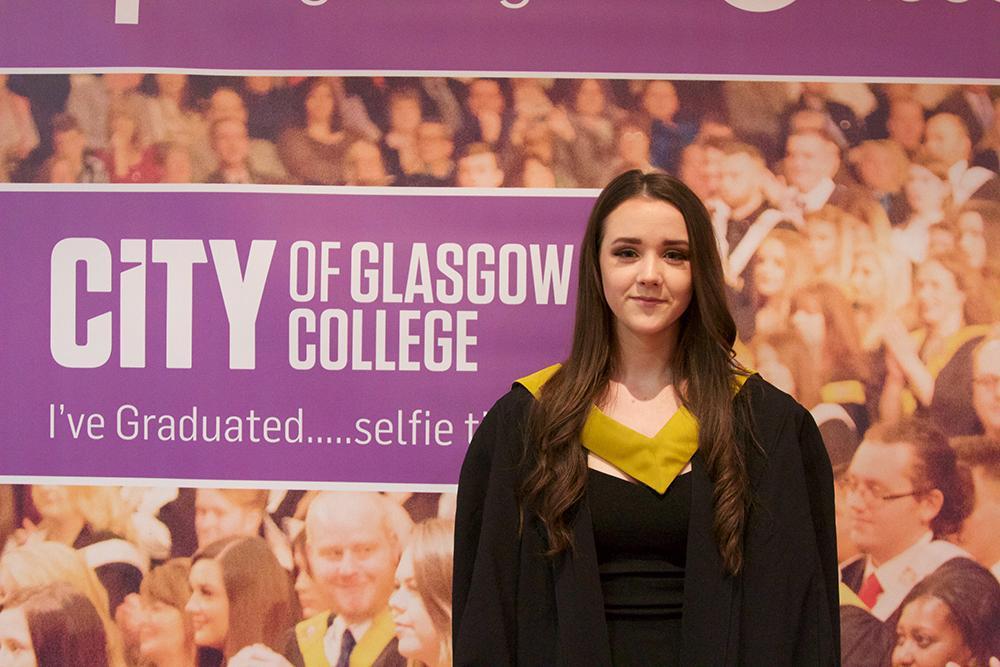 City of glasgow college graduation photos