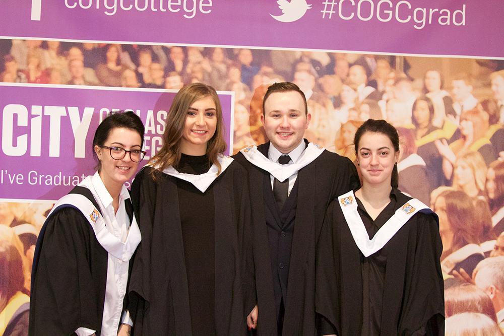 City of glasgow college graduation photos 3