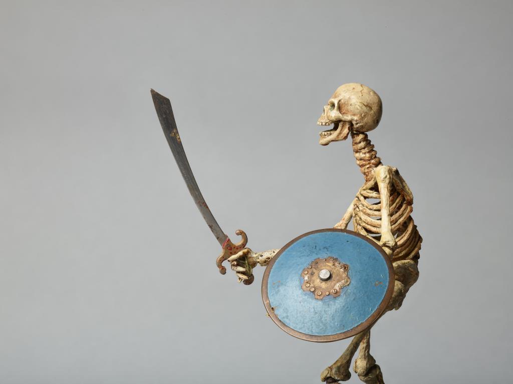 Ray HarryHausen: Titan of Cinema_Model of Skeleton from Jason and the Argonauts