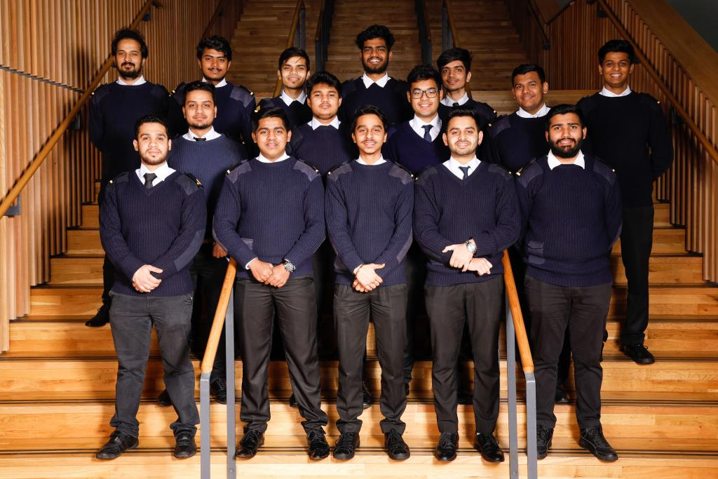 City of Glasgow College_Graduating Cadets November 2018