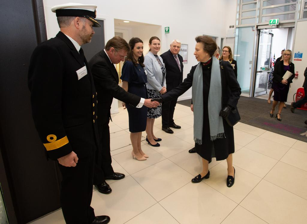 The Princess Royal visits City of Glasgow College Riverside Campus
