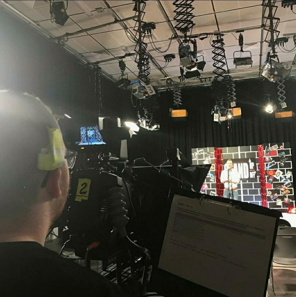 MarcHarvey_Working in CoGC TV studio