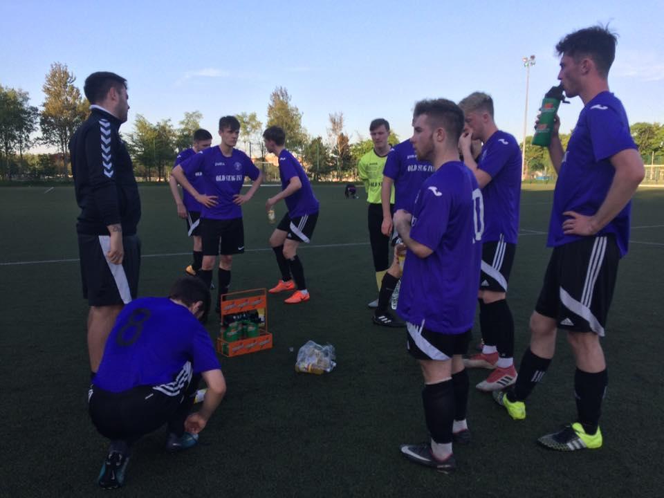 City of Glasgow College men's football team
