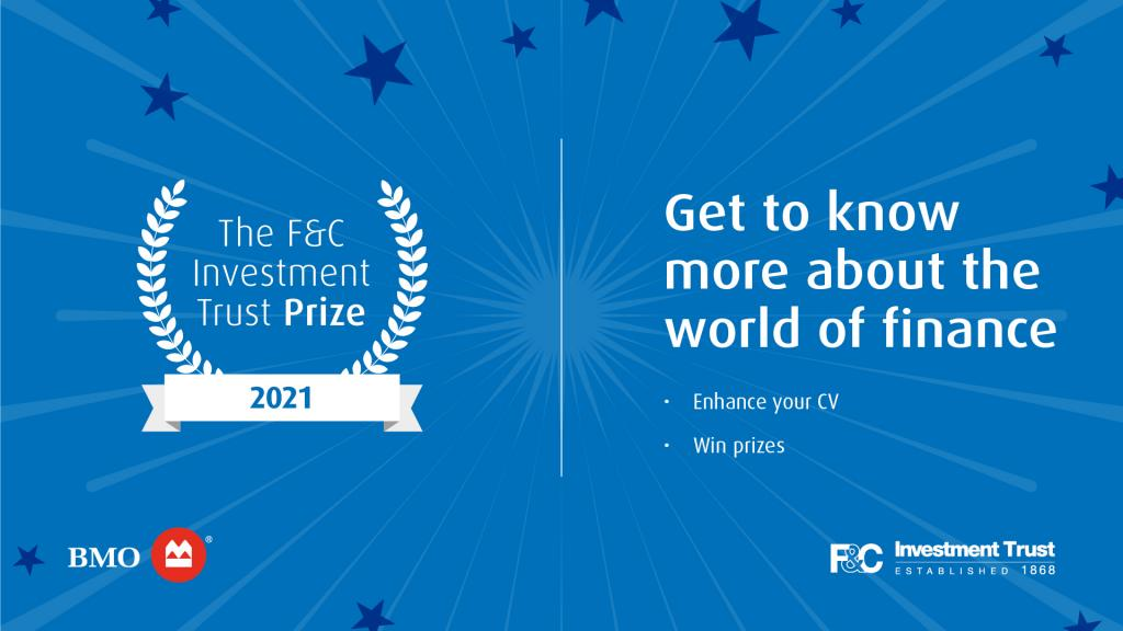 Image with details of F&C Investment Trust Prize