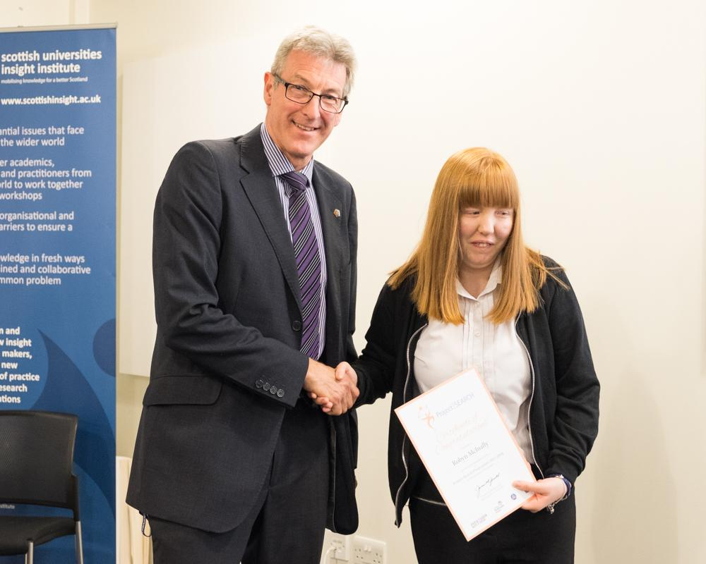 Project SEARCH: Robyn McInally (left)