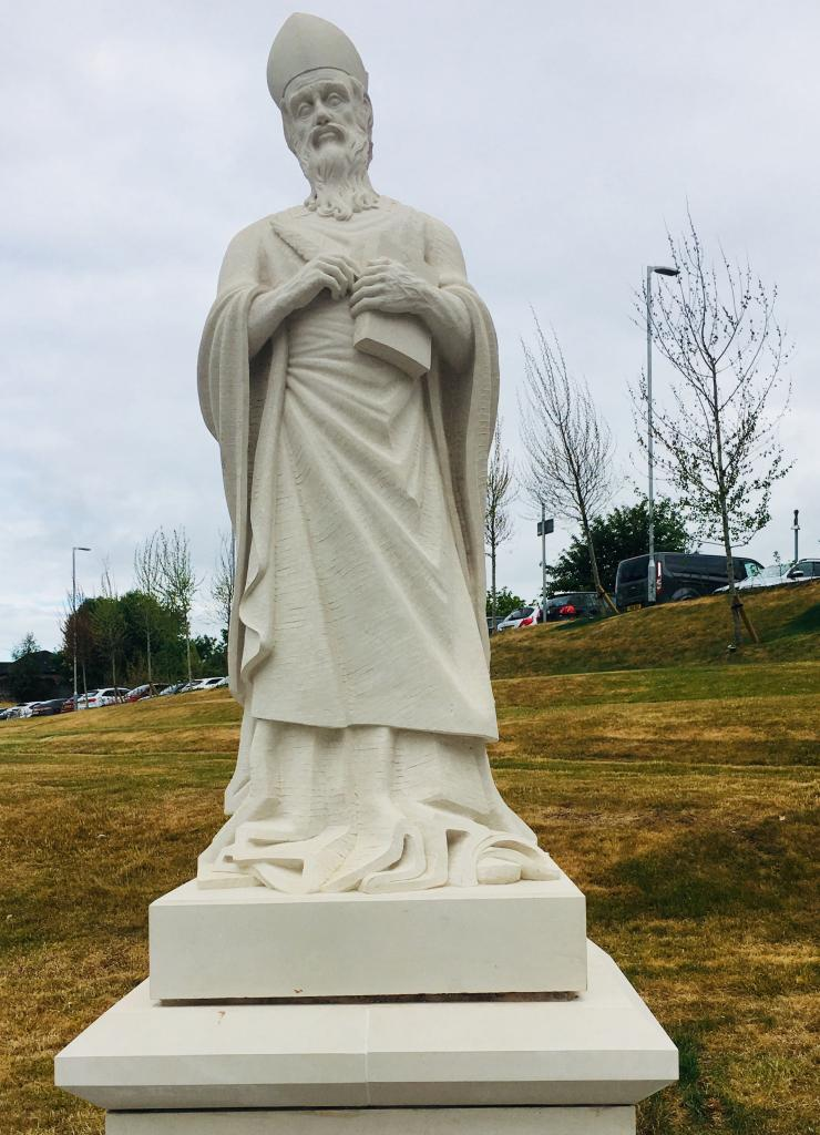 Statue of St Mungo, City Campus, City of Glasgow College