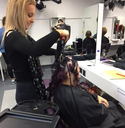 Taylor Hanlon, Modern Apprentice, Level 2 Hairdressing SVQ