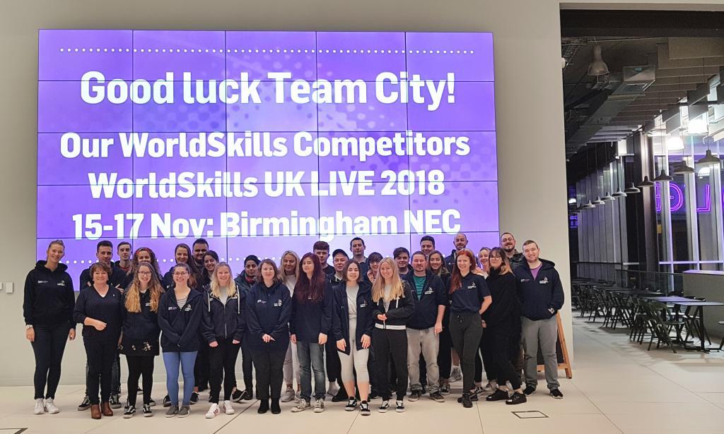 Team City for WorldSkills UK LIVE_141118