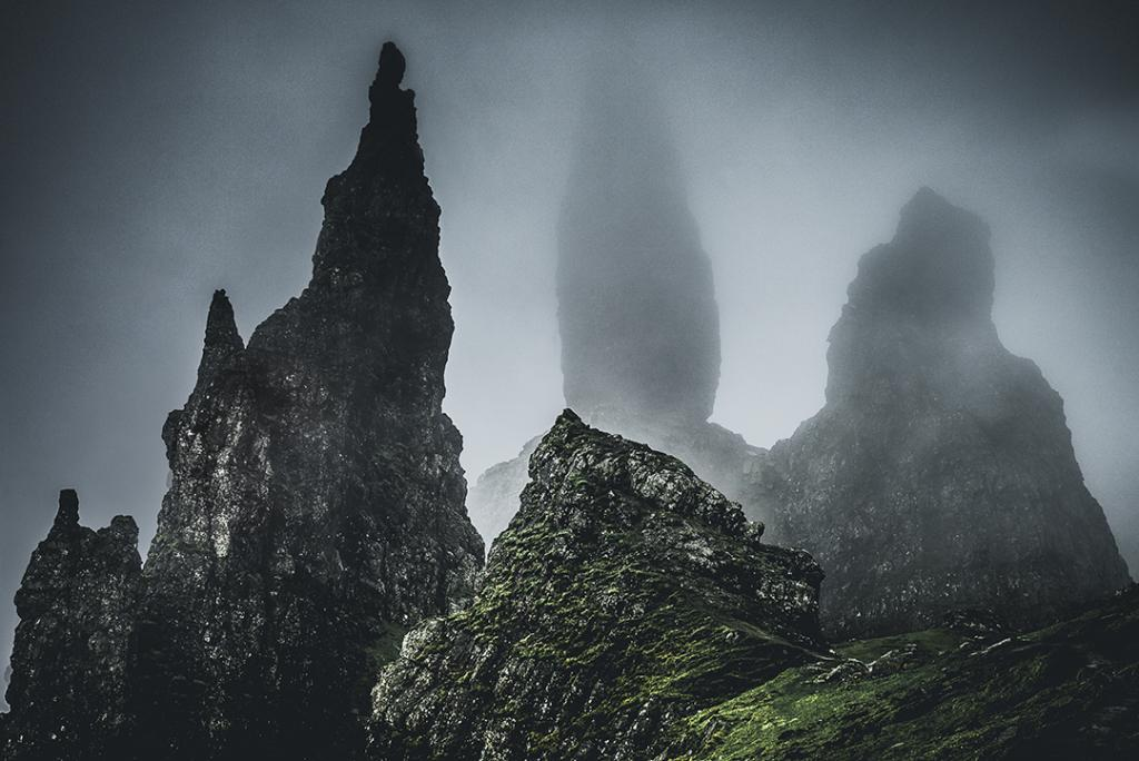 The Old Man O' Storr (photograph Paul Little)