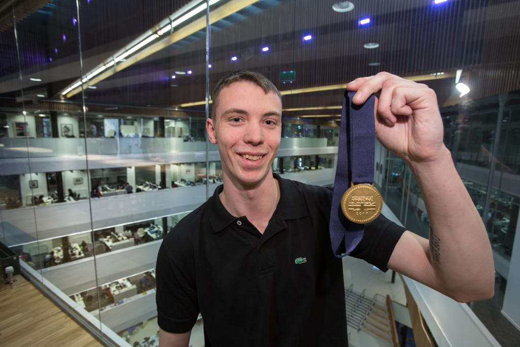 Mark Scott_WorldSkills UK Skills Gold Medallist