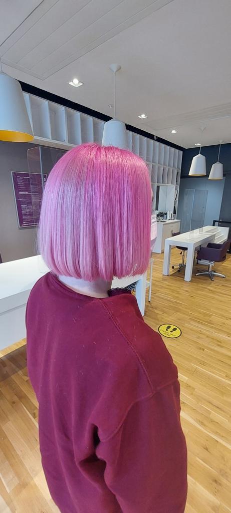 Amethyst Hair and Beauty Salon hair colour