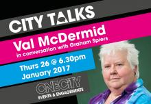 City Talks Val McDermid in conversation with Graham Spiers