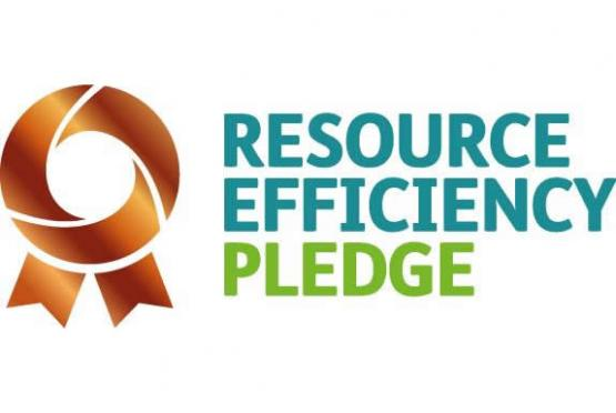 Logo for Bronze Resource Efficiency Pledge