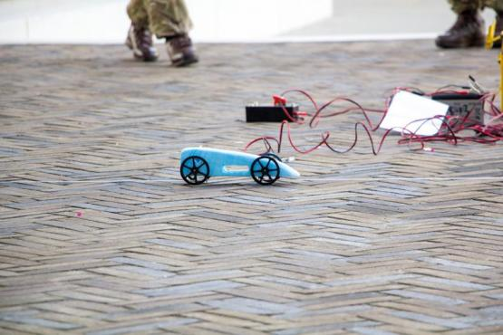 BLOODHOUND Project Rocket Car Challenge at City of Glasgow College