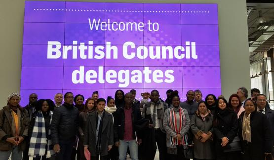 British Council visit City of Glasgow College