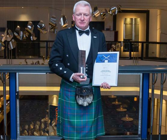 City of Glasgow College, Gordon McIntyre, CIS Excellence Awards 2016