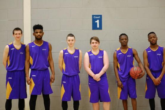 City of Glasgow College Men's Basketball Team