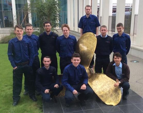 CalMac Modern Apprentices start at City of Glasgow College