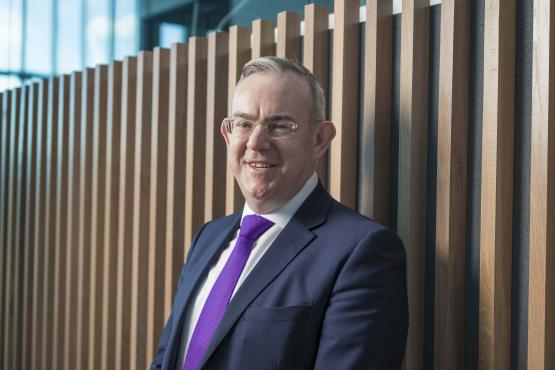 Paul Little, Principal & Chief Executive of City of Glasgow College