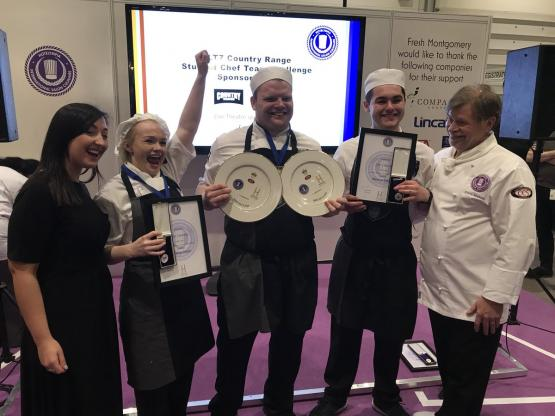 CoGC win Country Range Student Chef Challenge