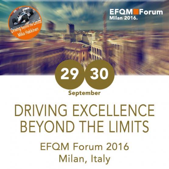College nominated for EFQM 2016 Excellence Award