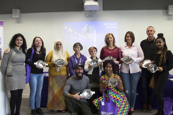 ESOL Awards Ceremony October 2017