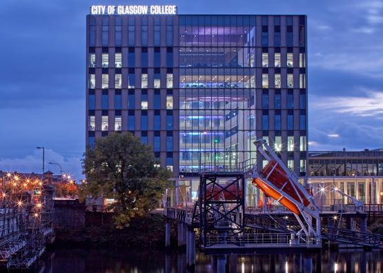 City of Glasgow College Riverside maritime campus