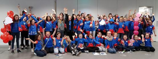 Girl Guides at CoGC