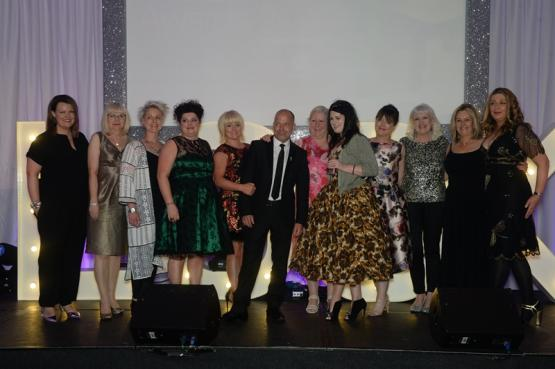 Herald Look Awards 2016 - CoGC staff from Hair, Beauty and Complimentary Therapy