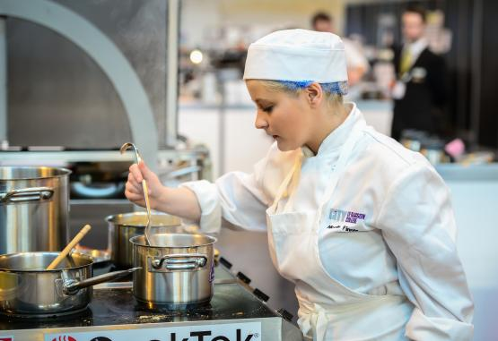Nicolle Finne - UK Skills Show 2015 - Culinary Arts Gold