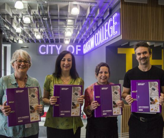City Phonics spreads the word