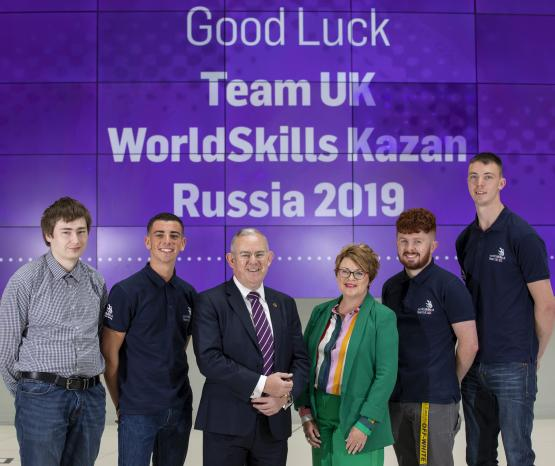 Scots students head to Russia for Skills Olympics
