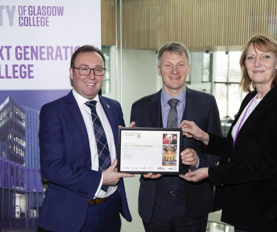 Growth in engineering education in Glasgow schools recognised by Minister for Trade