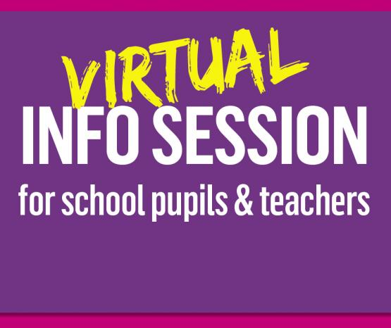 Virtual Drop-In Information Sessions