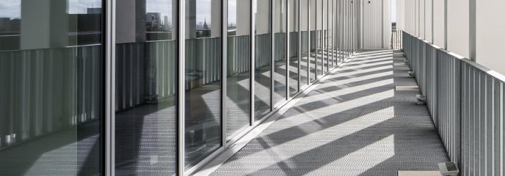 Balcony at City Campus.