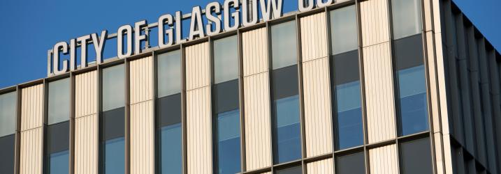City of Glasgow College sign